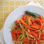Midweek Dash: Easy Sautéed Carrots with Onions and Rosemary