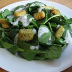 Dark Green Goodness: Baby Spinach Salad with Poppy Seed Dressing