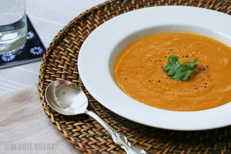 Vegetarian Curried Split Pea Soup (Secret Ingredient)