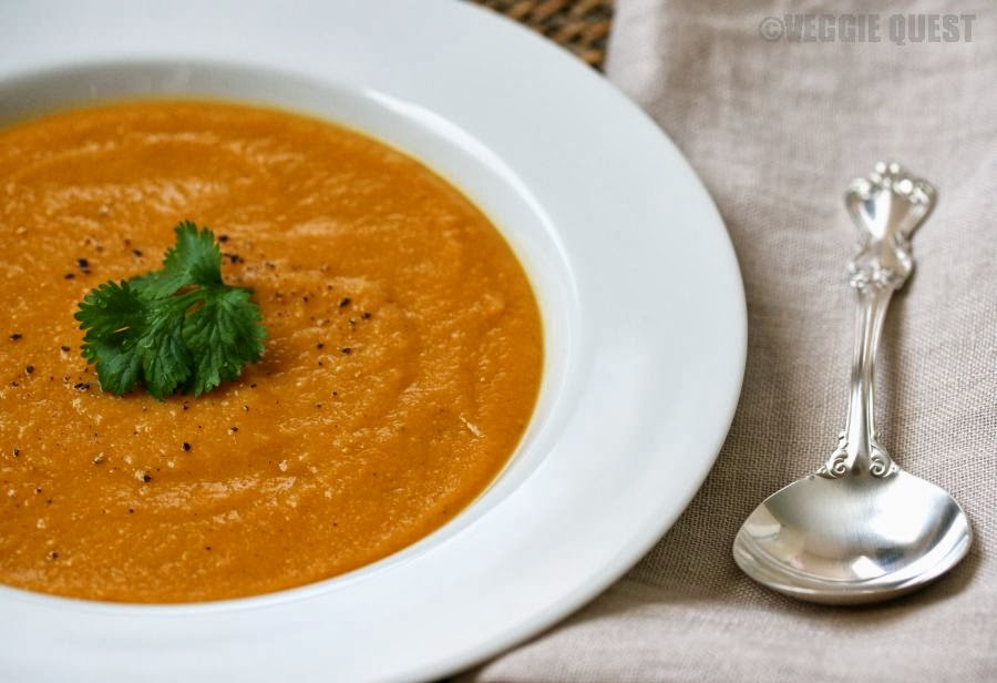 Curried Yellow Split Pea Soup