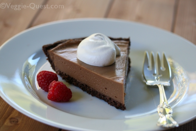 Cauliflower Vegan Chocolate Silk Pie 1_WM