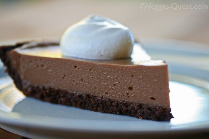 Cauliflower Vegan Chocolate Silk Pie 2_WM