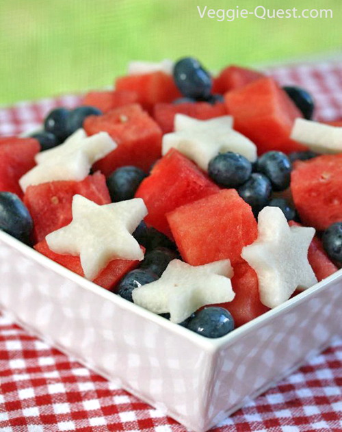Low-Fat Vegan 4th of July Recipes