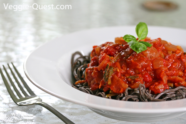 black bean pasta with marinara_final