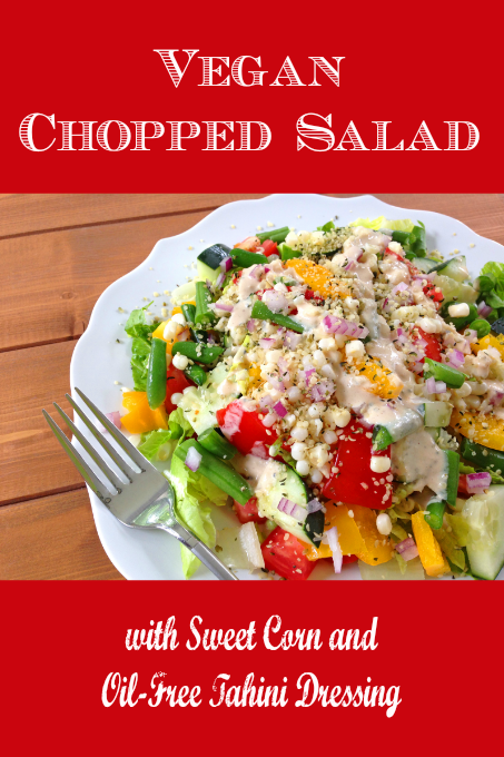 Pinterest Image - Chopped Salad