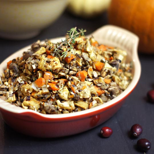 10 Low-Fat, Vegan Gluten Free Thanksgiving Recipes