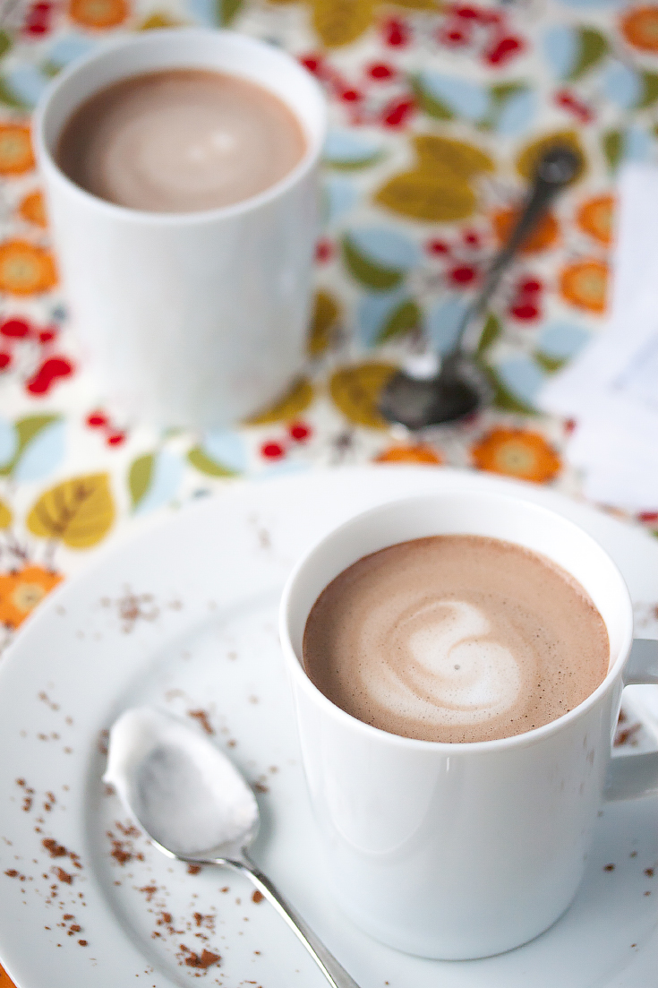 42 Calorie almond milk hot chocolate C