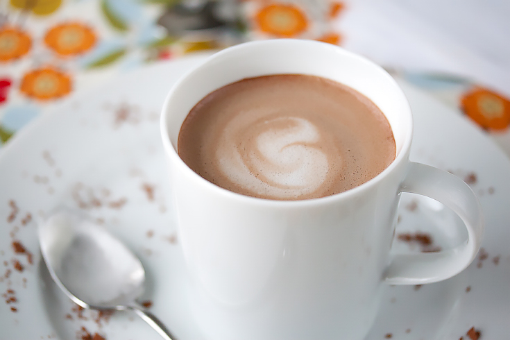 42 Calorie almond milk hot chocolate D