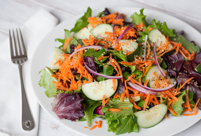 Lunch Salad - 2 Pounds of Vegetables a Day – Sweet Potato Style