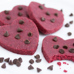 Skinny No Bake Red Velvet Cookies (Gluten Free, Vegan)