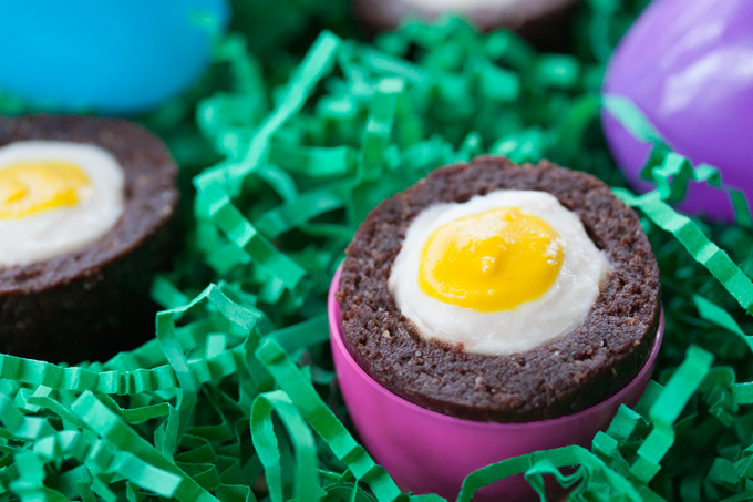 Healthy Homemade Cadbury Creme Eggs - Gluten Free and Vegan