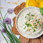 Basil and Lemon White Bean Dip