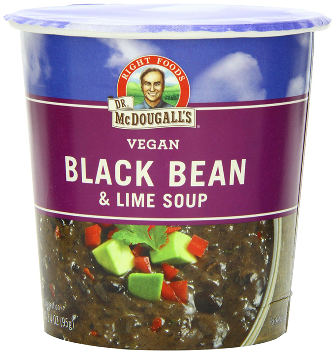 McDougall Black Bean Lime Soup - Image from Amazon.com