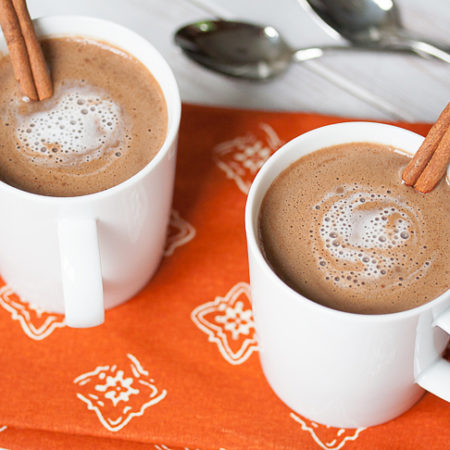 62-Calorie Pumpkin Hot Chocolate