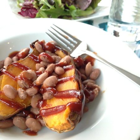 Vegan SNAP challenge sweet potato