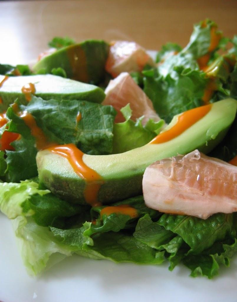 Avocado-grapefruit-salad