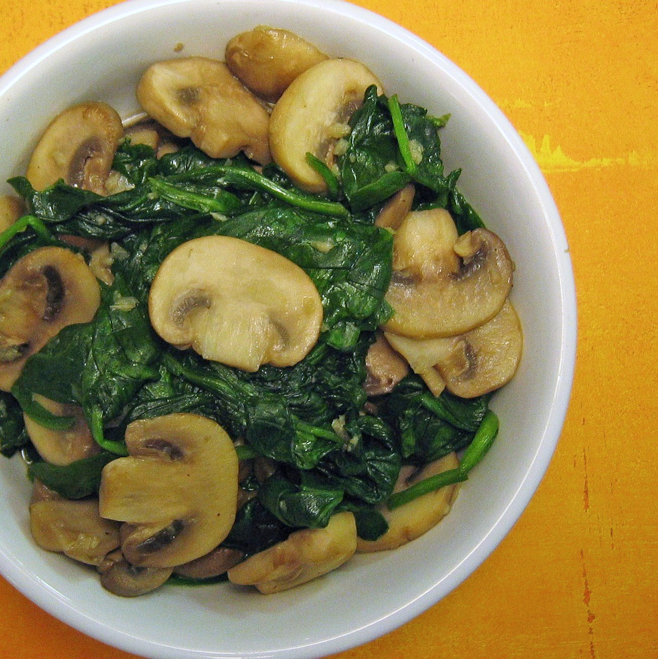 Spinach and Mushrooms Final Final 4