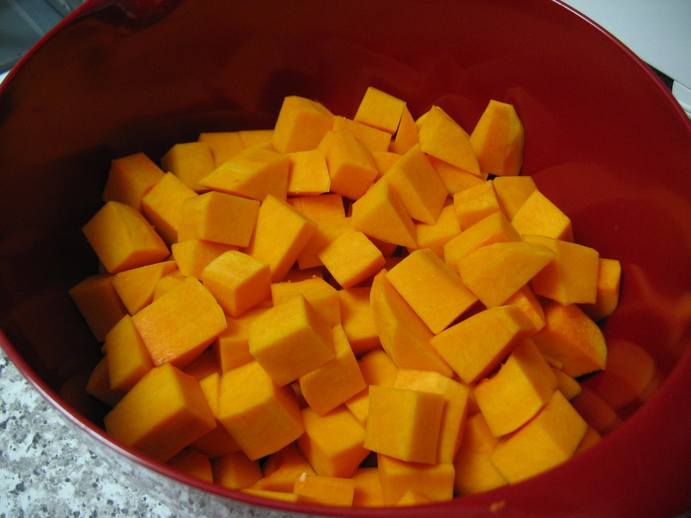 how to cook butternut squash chunks