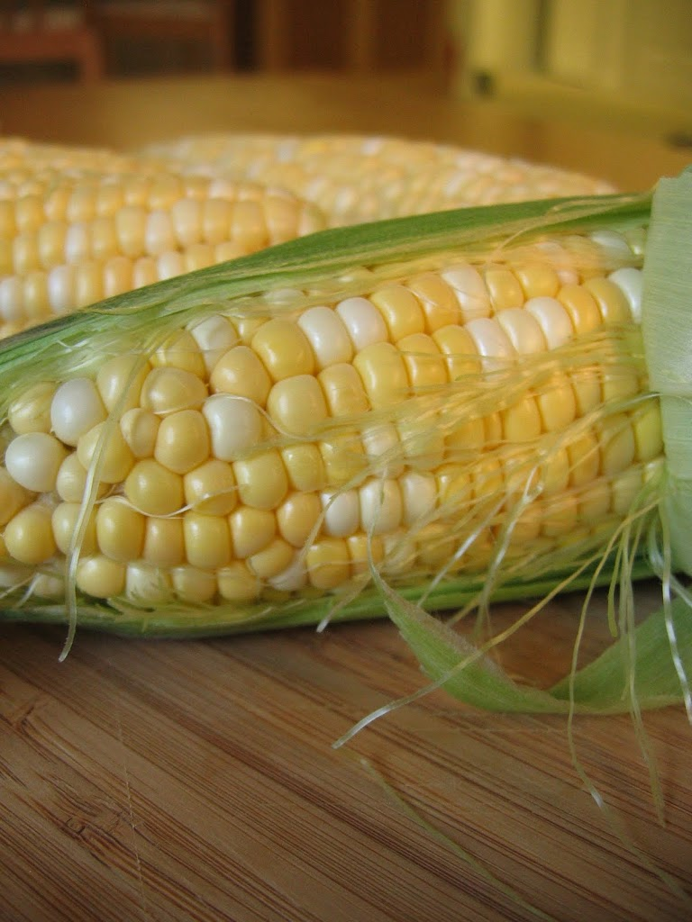 Sweet Corn with Buttermilk Dressing