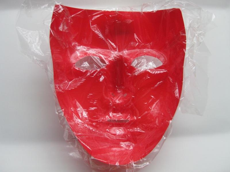 Halloween-Mask-Plastic-Wrap