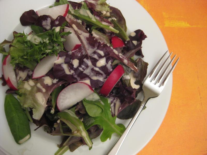 salad-with-tahini-wednesday