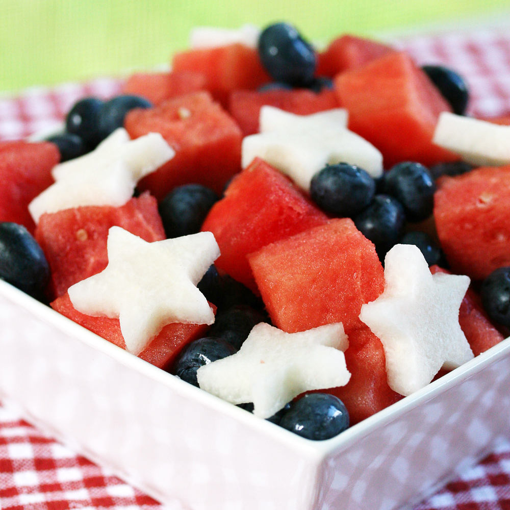 Easy Red White and Blue Salad