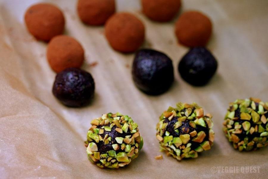 Chocolate Zucchini Truffles