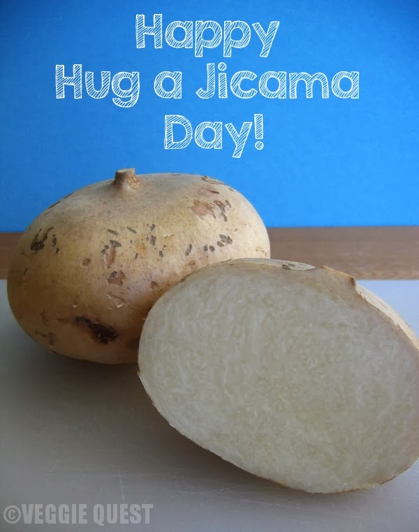 Jicama Nutrition + 4 Creative Ways to Enjoy Jicama – Happy Hug a Jicama Day!