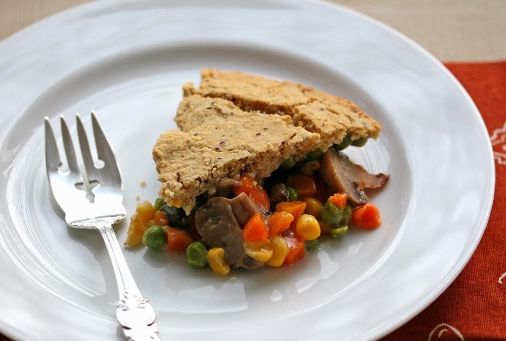 Vegetarian Pot Pie (Gluten Free, Soy Free, Low Fat)