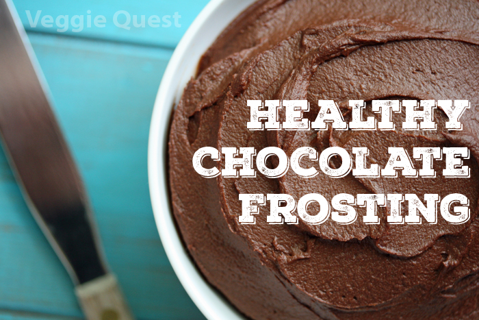 Low fat vegan chocolate frosting_Final