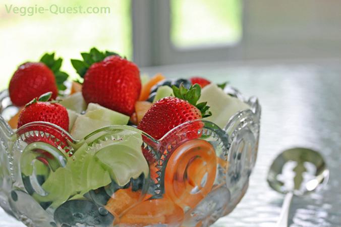 Low Fat & Gluten-Free Vegan Brunch Menu
