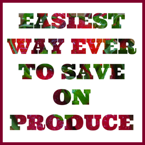 Are You Using this Easy Tip to Save on Produce?