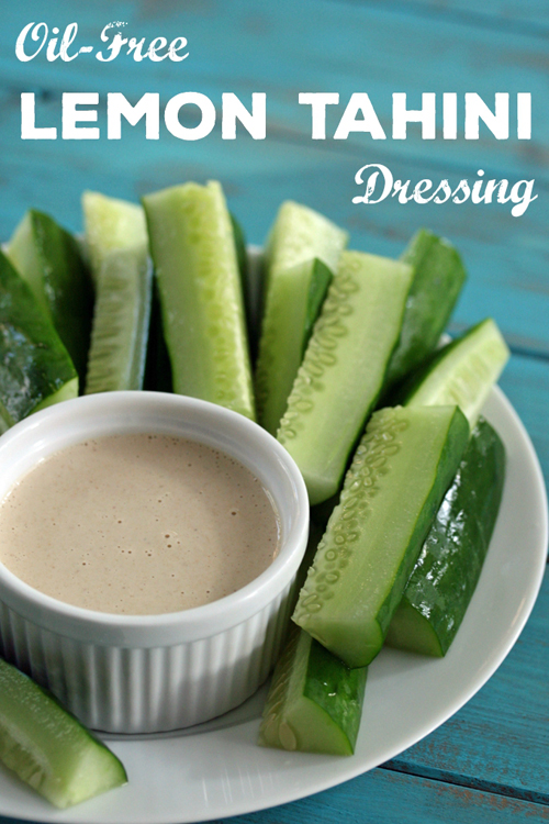 Pinterest Tahini Dressing Cucumbers_Resized