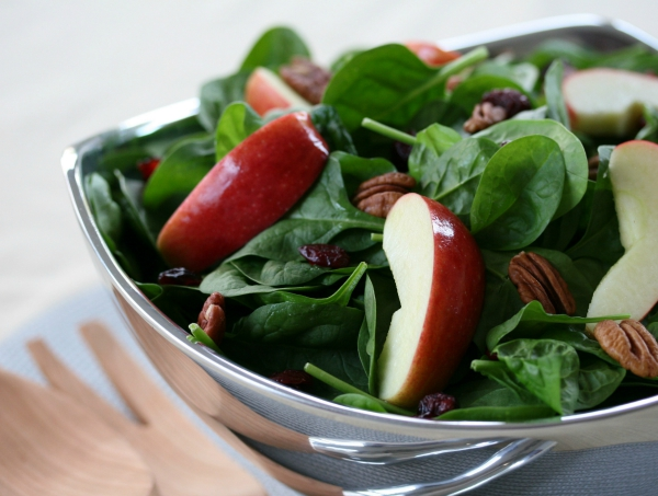 Spinach Salad July 2015