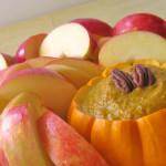 Apple Slices with Pumpkin Pie Dip (Gluten Free, Vegan)