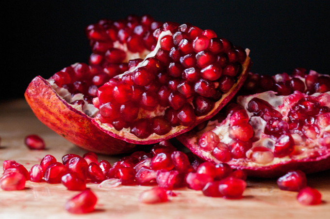 Pomegranate pic from Flickr