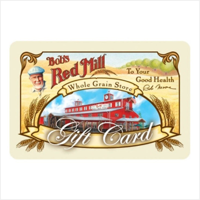 Bobs Red Mill Gift Card-border