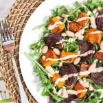 Surpisingly Addictive Butternut Squash Salad