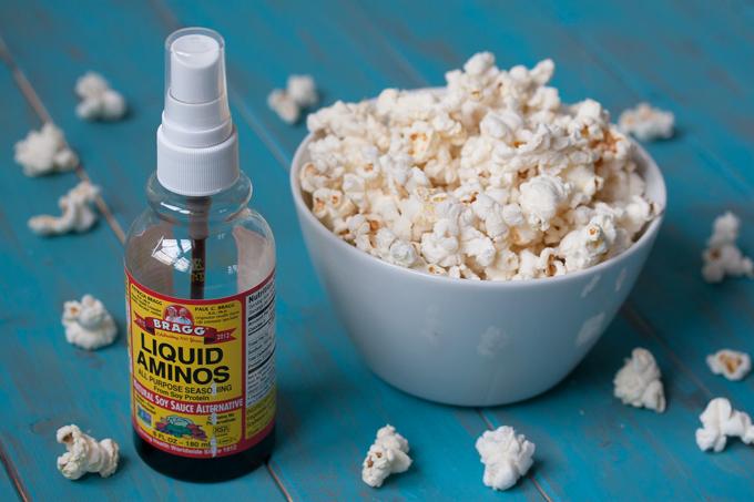 Easy DIY Microwave Popcorn with Liquid Aminos