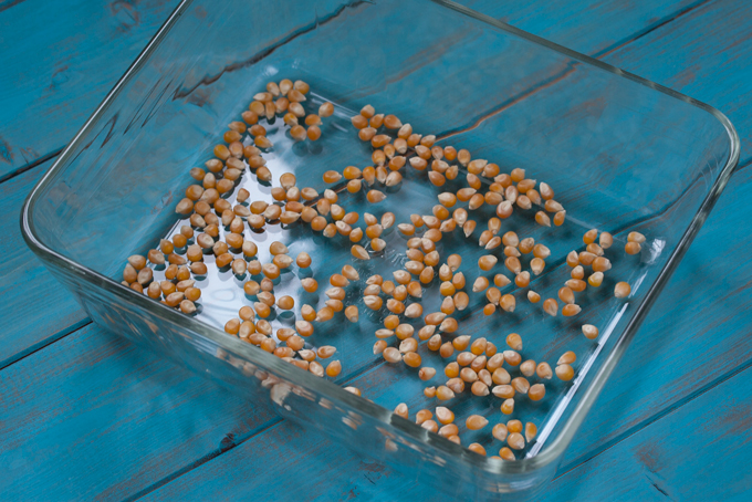 Easy DIY Microwave Popcorn Kernels