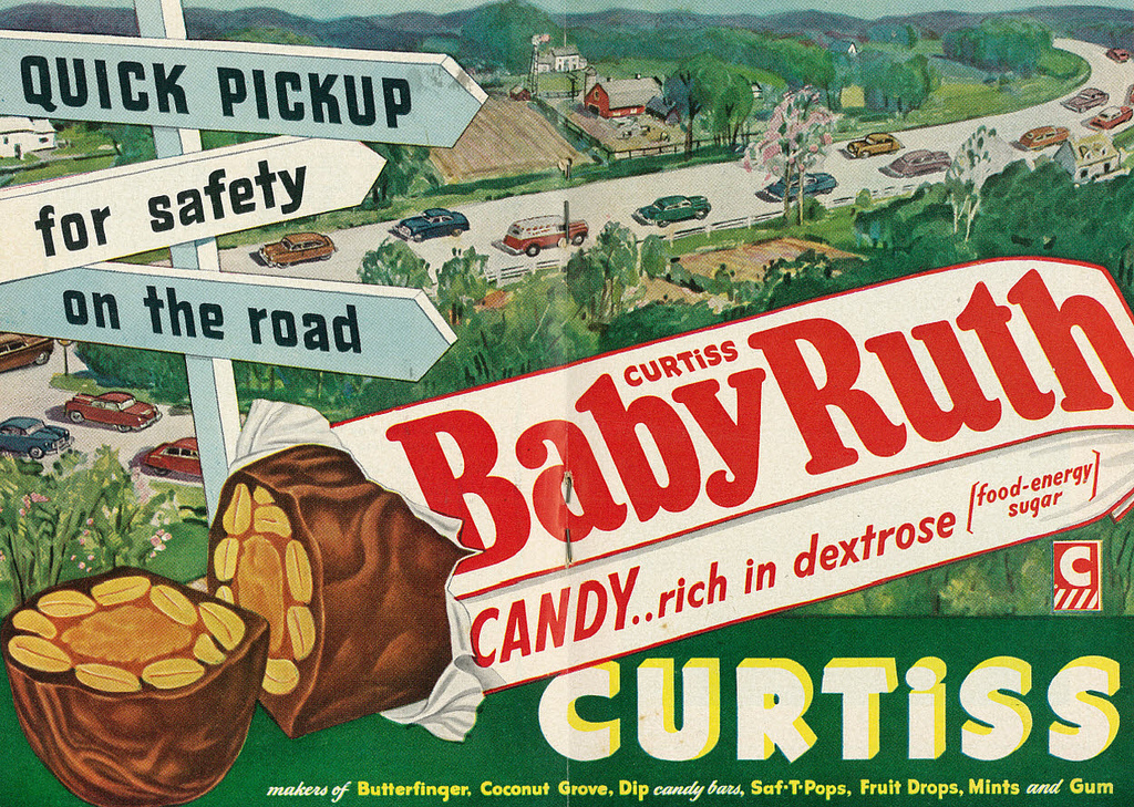 Baby Ruth with Dextrose