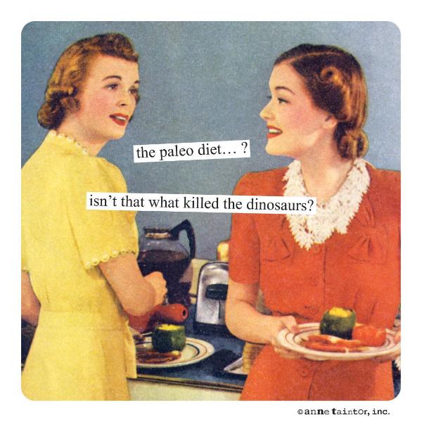 Paleo diet magnet