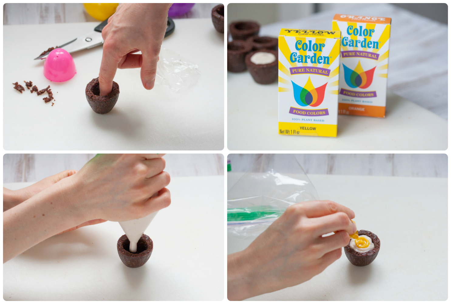 Steps 9-12 Homemade Cadbury Creme Eggs