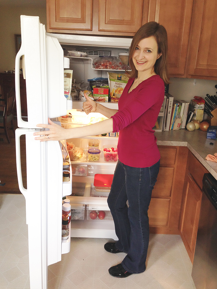 Delighted After - How to Clean Your Fridge