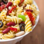 Healthy Pizza Pasta Salad