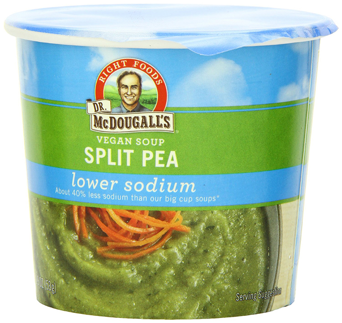 McDougall Vegan Split Pea Soup - Image from Amazon