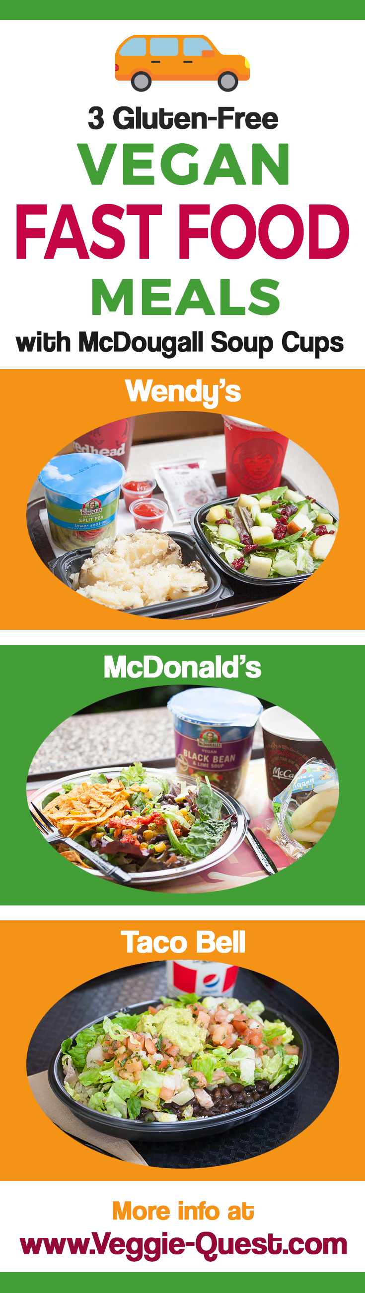 Fast Food Chains With Veggie Burgers