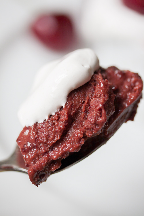 5-Minute Vegan Cherry Chocolate Ice Cream (No churn and no refined sugar!)