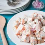 Easy Southern Sweet Potato Salad
