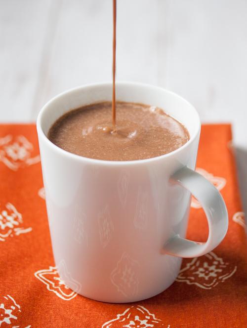 62-Calorie Pumpkin Hot Chocolate